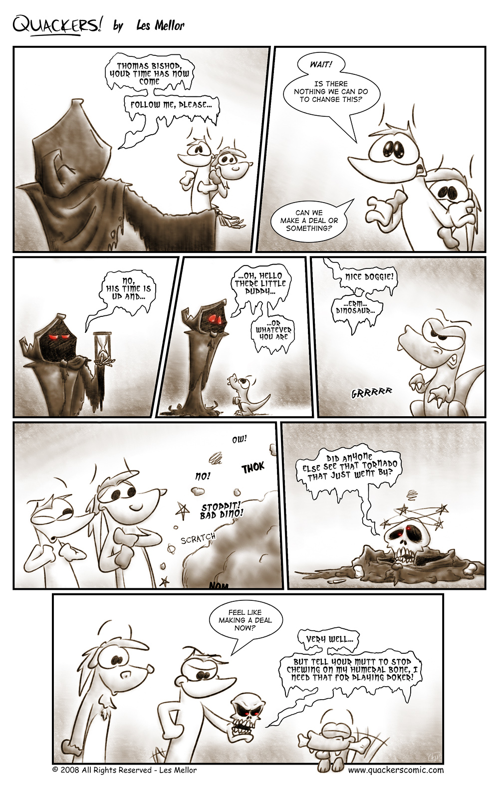 A Grim Predicament - Part Five