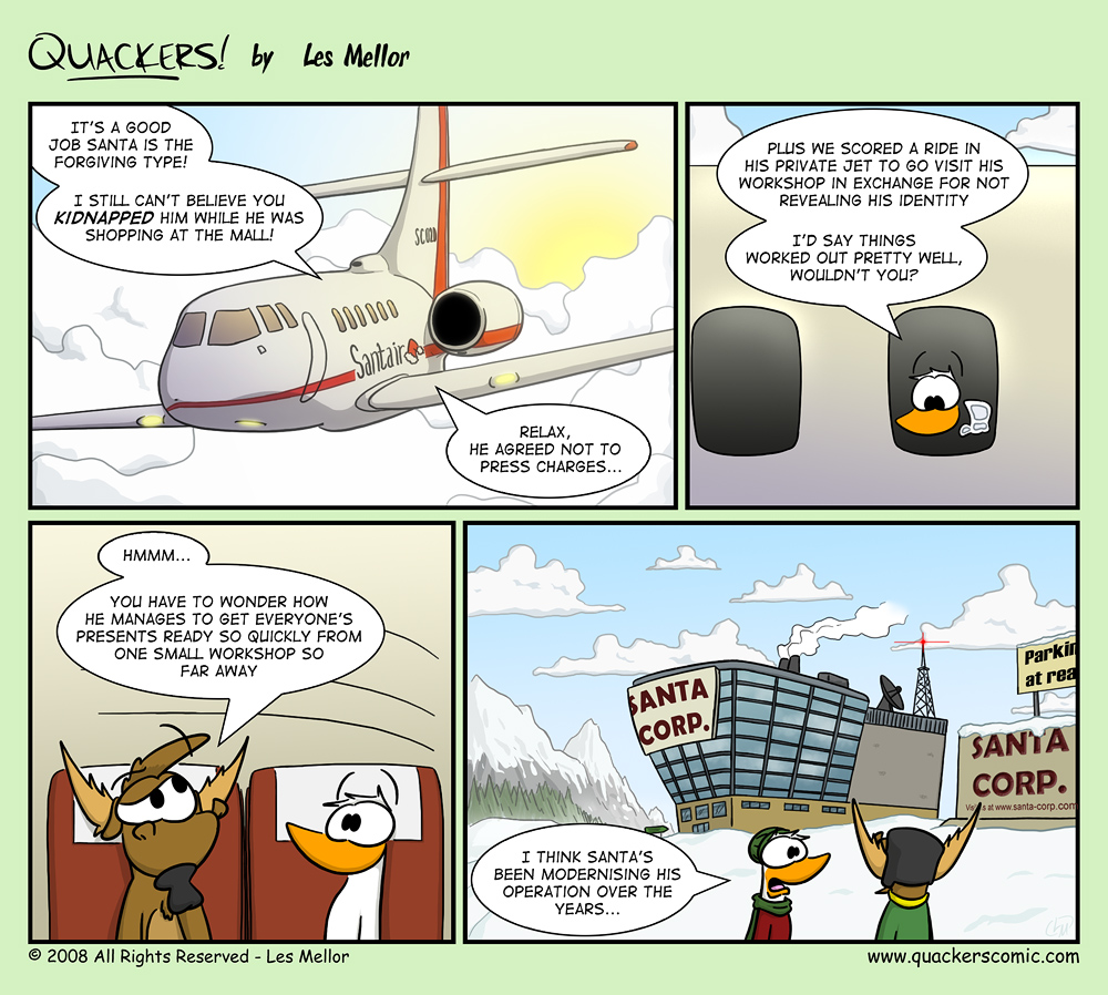 Christmas Quackers - Part Four