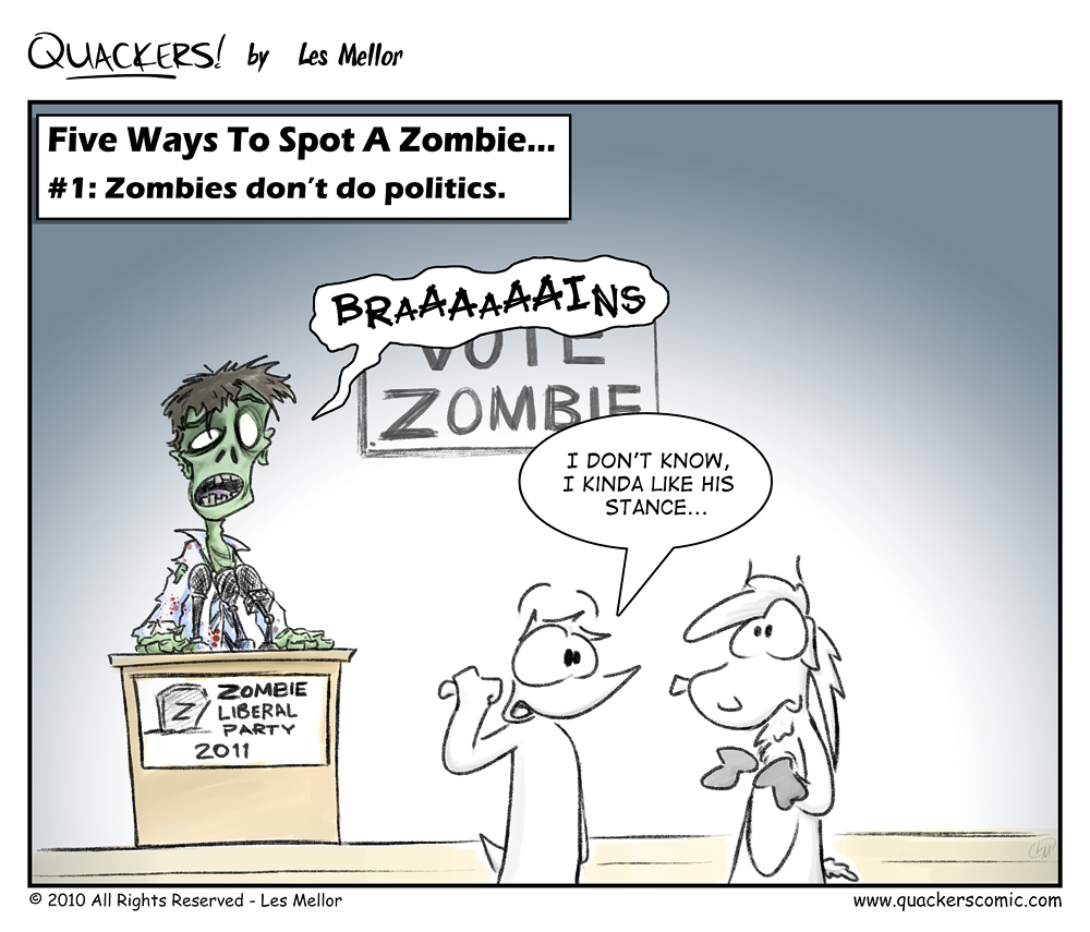 How To Spot A Zombie: Part One