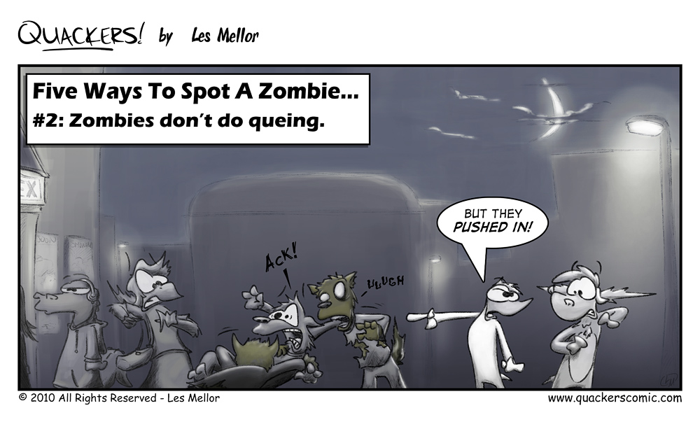 How To Spot A Zombie: Part Two