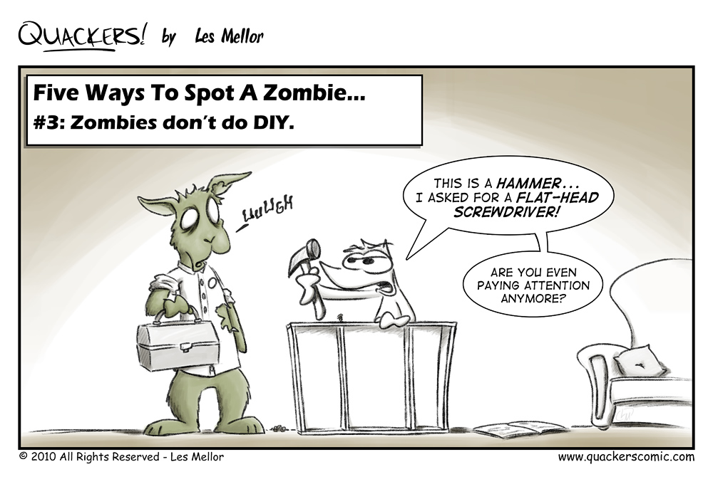 How To Spot A Zombie: Part Three