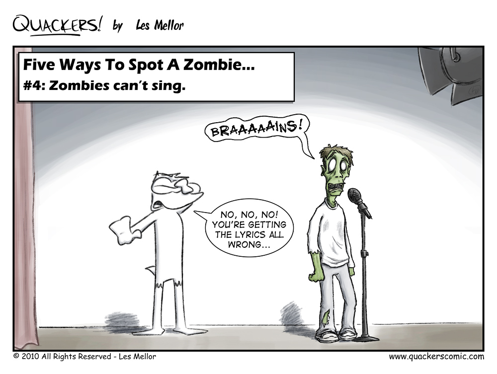 How To Spot A Zombie: Part Four