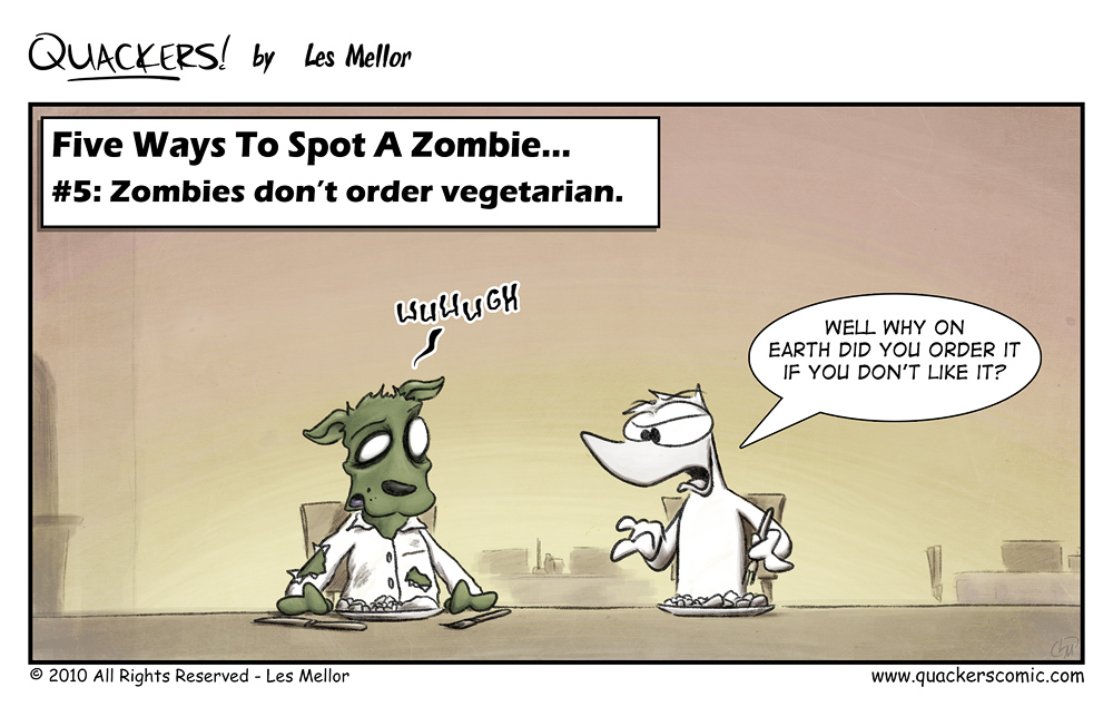 How To Spot A Zombie: Part Five