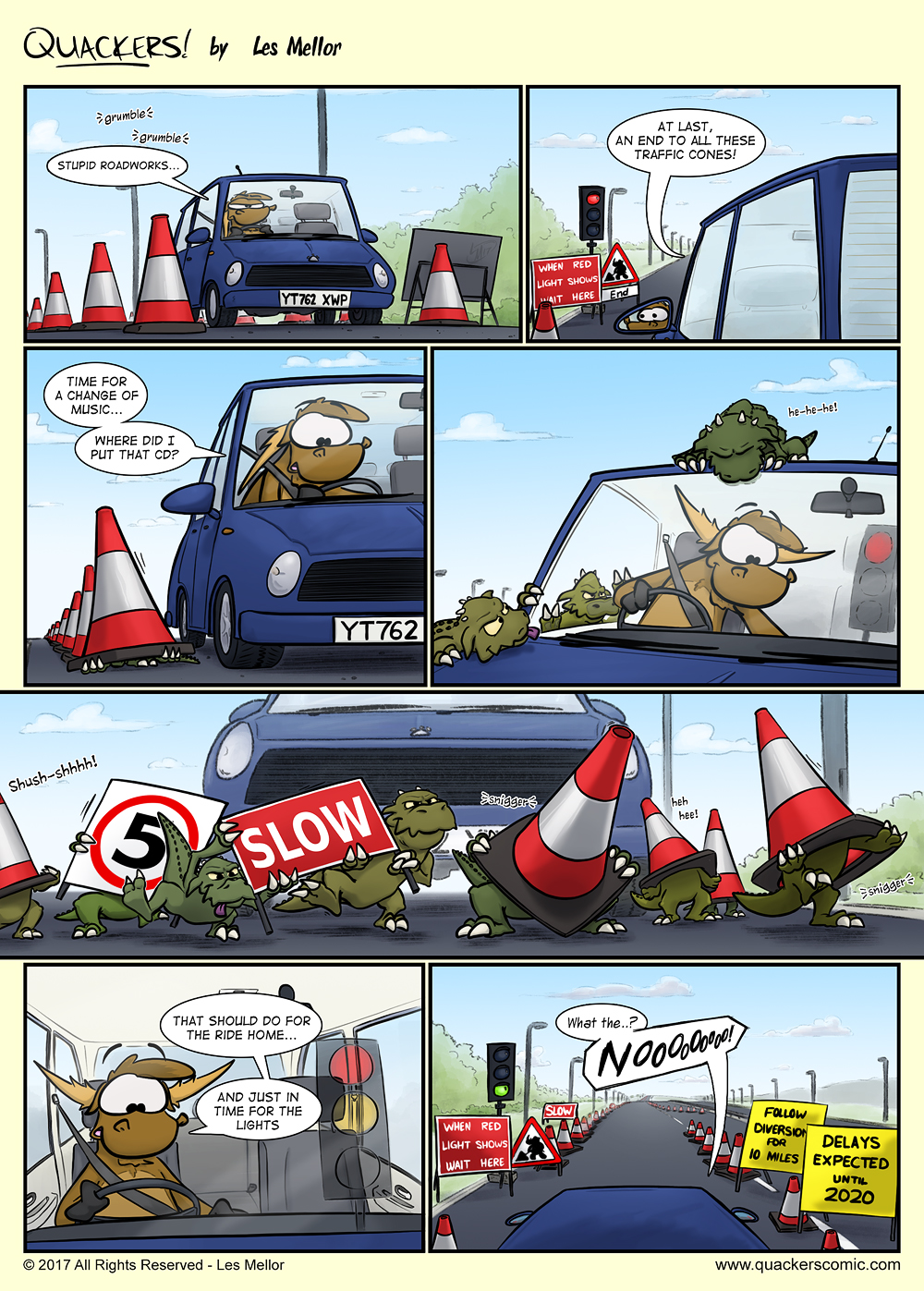 Roadwork Critters