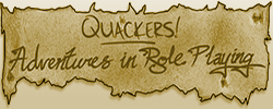 The Quackers! Role Playing Adventure